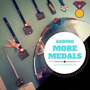 Run Rest Repeat Medals