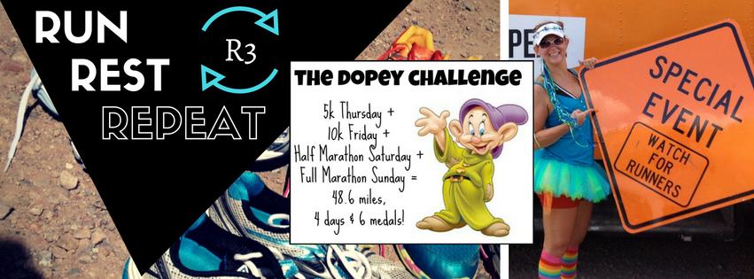 Dopey Challenge #RunRestRepeat